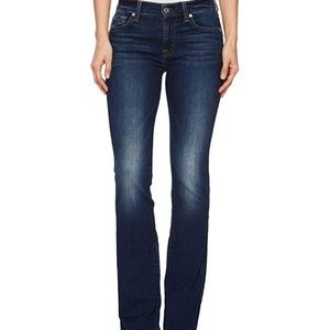 7 For All Mankind Dojo Blue Jeans Size 29